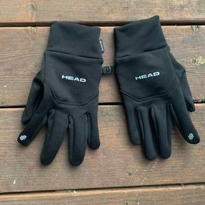 Black Head Gloves with Phone Screen Touch